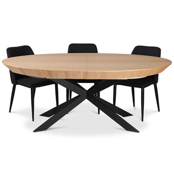 שולחן אובלי אליפסה