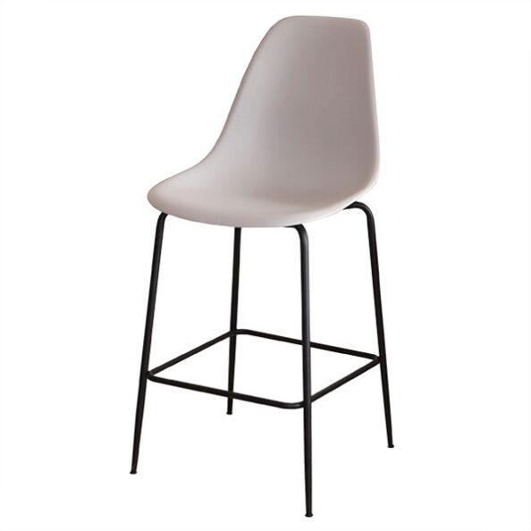 כסא בר מעוצב 1170 רגלי מתכת