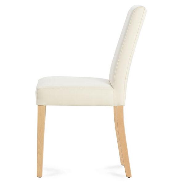 כסא אנטוני שמנת מהצד