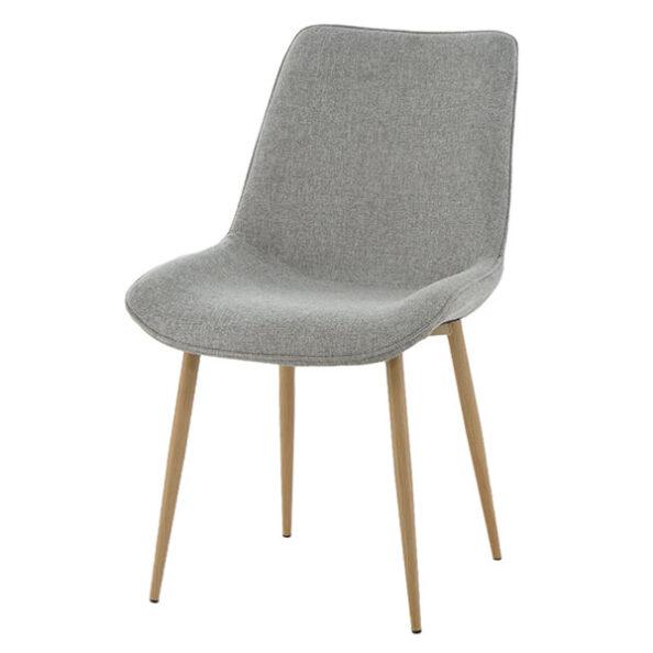 כסא דלתא דמוי עץ