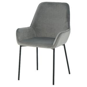 כסא מאור אפור
