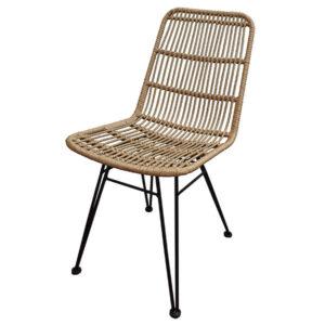 כסא ראטן טבעי