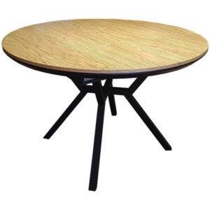 שולחן קוטר 120 עגול נפתח
