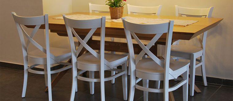 שדרוג פינת הישיבה באמצעות כסאות לפינת אוכל
