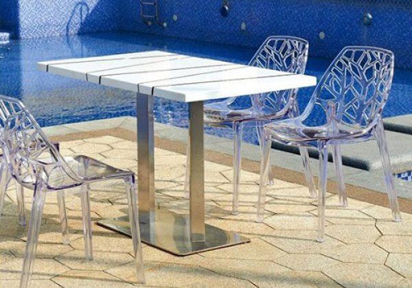 ריהוט לגינות יוקרתיות בשילוב כסאות