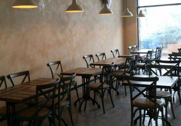 עיצוב כיסאות למסעדות ובתי קפה יוקרתיים