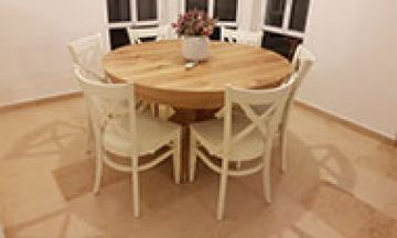 עיצוב פינת האוכל ובחירת כסאות מתאימים