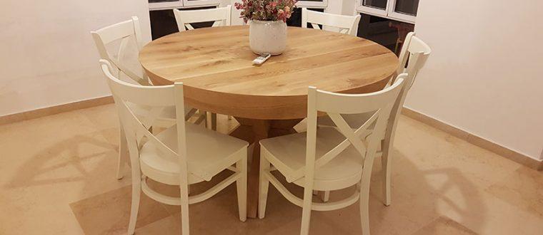 עיצוב פינת האוכל ובחירת כיסאות מתאימים